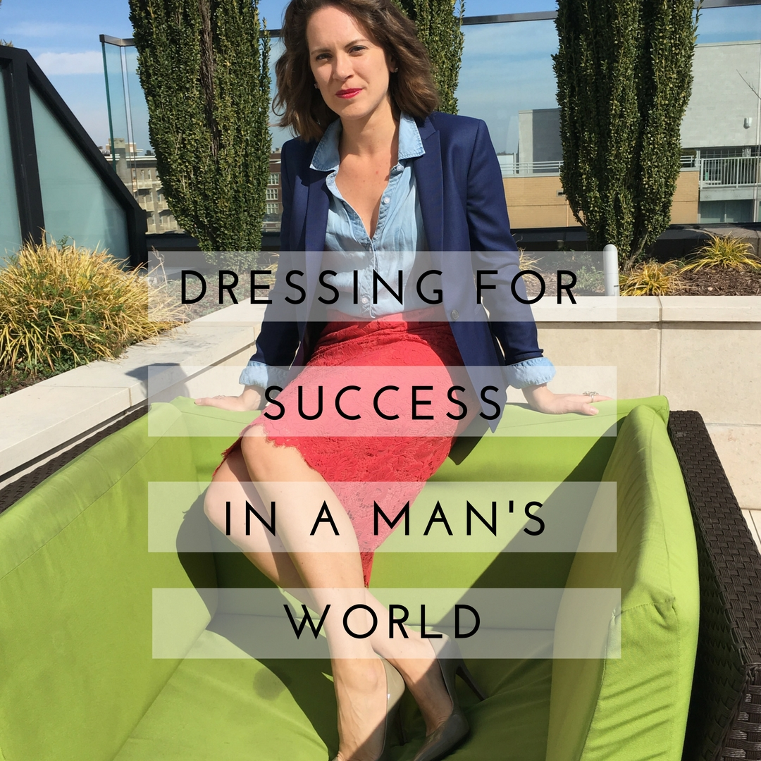 Dressing for Success in a Man's World | Catherine Cassidy